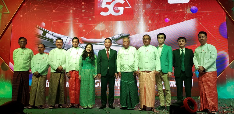 Mytel launch 5G service in Myanmar