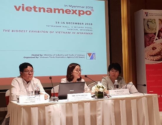 Press conference held by Vietnam Embassy to introduce Vietnam Expo 2018